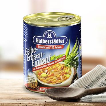 Potages et soupes-repas d'Halbstadt , Soupe de pois jaunes