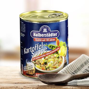 Potages et soupes-repas d'Halbstadt , Soupe de pommes de terre