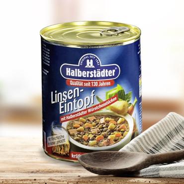 Potages et soupes-repas d'Halbstadt , Soupe de lentilles