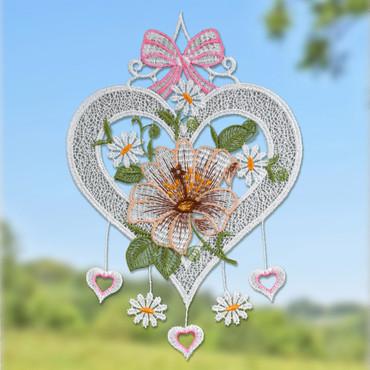 Plauener Stickerei »Herz«