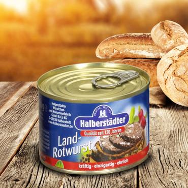 Saucisses Halberstädter , Boudin noir – Bild 1