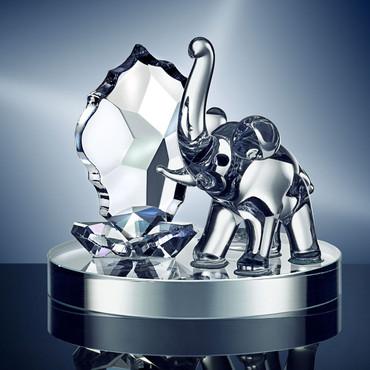 Kristallfigur »Elefant«