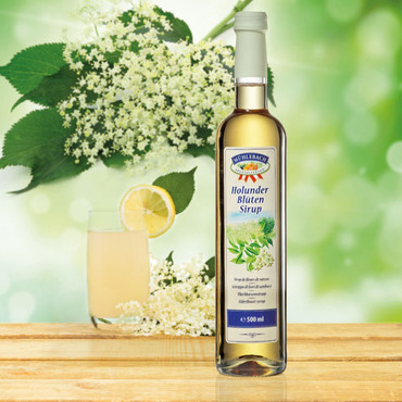 Sirup, Holunderblüte, 500 ml