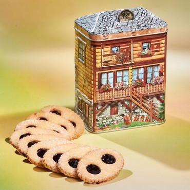 Boîte »Maison de montagne« à biscuits – Bild 1