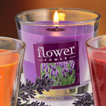 Duftkerze im Glas, Lavendel 001