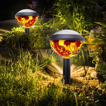 Lampes solaire »Tiffany« – Bild 2