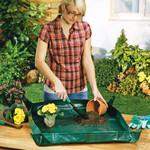 Garten-Arbeitsunterlage