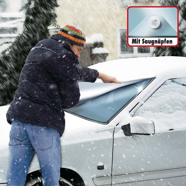Anti-Frostfolie mit Saugnäpfen