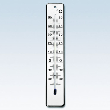 chg Thermometer, roestvrij staal
