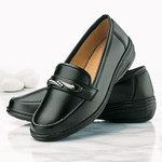 Damen-Slipper, schwarz 001