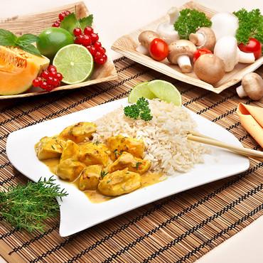 Kip-curry met rijst