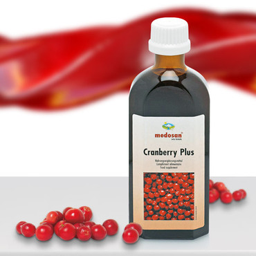 Cranberry Plus Sirup, 250 ml