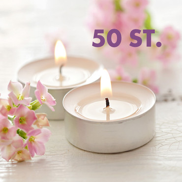 Teelichter , 50 Stück – Bild 1