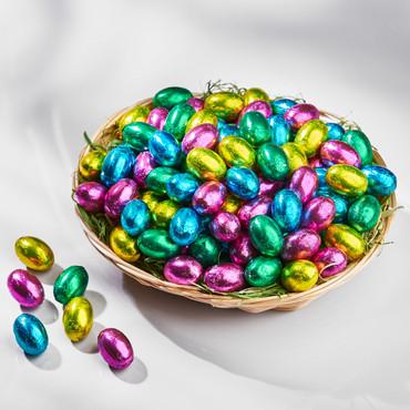 Schoko-Eier mit Haselnusscreme, 500 g