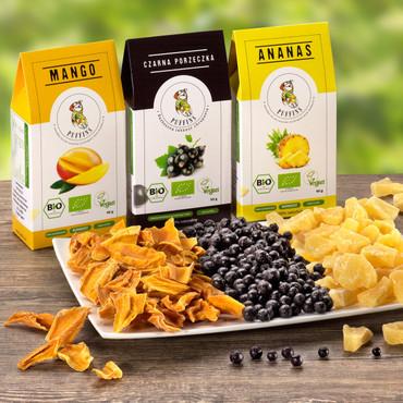 BIO Trockenfrüchte, Mango – Bild 1