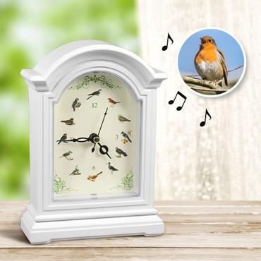 Uhr mit Vogelstimmen – Bild 1