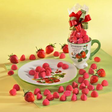 Erdbeer-Gedeck – Bild 1