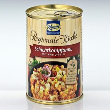 Keunecke Fertiggerichte, Schichtkohl-Pfanne