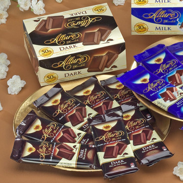 12er-Schokoladenbox, Zartbitter