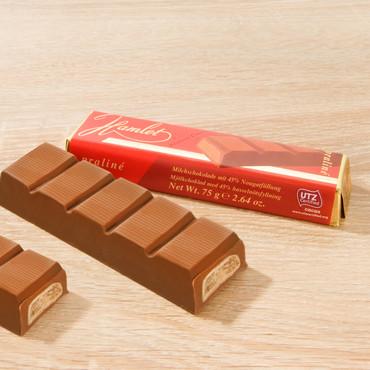 Nougat-Schokoladenriegel