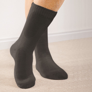 Wärmespeichernde Socken (Damen), 2 Paar, schwarz – Bild 1
