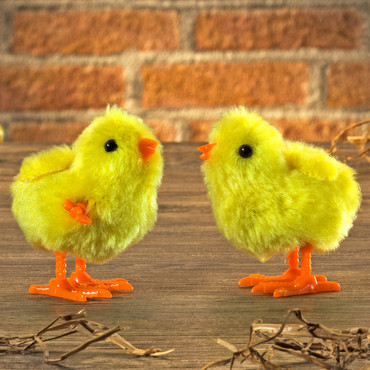 Hüpfende Osterküken, 2 Stück
