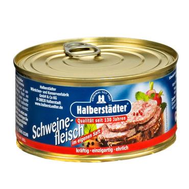 Halberstädter Konserven, Schweinefleisch