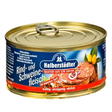 Halberstädter Konserven, Rind- und Schweinefleisch – Bild 1