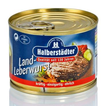 Halberstädter Wurstwaren, Land-Leberwurst – Bild 1