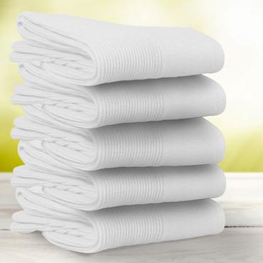 Gesundheits-Socken, 5 Paar, weiß – Bild 1