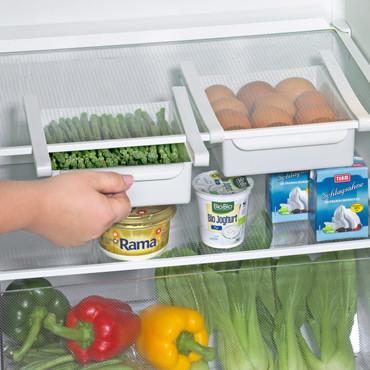 Kühlschrank-Klemm-Schubladen, 2 Stück