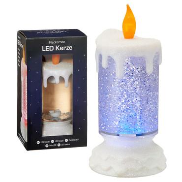 LED-Kerze »Glitzerwirbel« – Bild 2