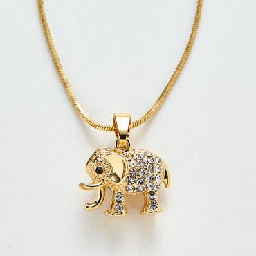 Elefantenanhänger mit Kette