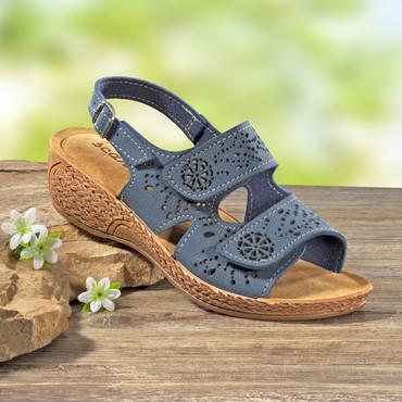 Sandalette mit gepolsterter Innensohle