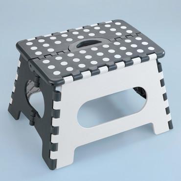 Klapphocker, Tritthocker, belastbar bis 350 kg – Bild 1