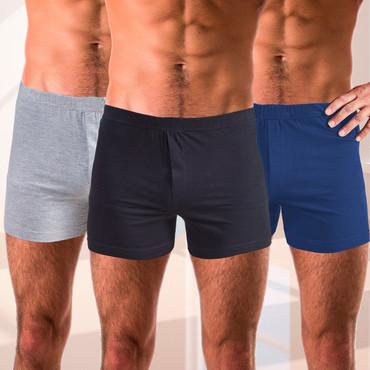 Herren-Boxershorts, 3er-Pack – Bild 1