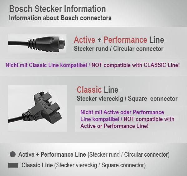 Bosch eBike Akku Active Line 36V 11 Ah 400 Wh Ersatzakku Rahmen Platinum – Bild 3