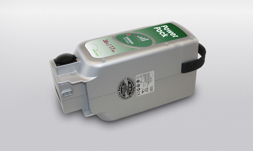 E-BIKE VISION Power Pack Ersatzakku Akku für Panasonic Antrieb 36V 13Ah 468 Wh