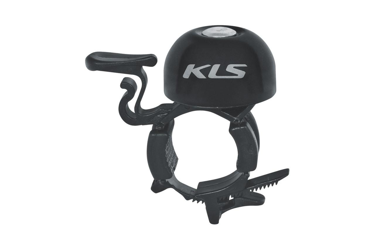 Fahrradglocke KLS BANG 30 black (OEM Verpackung)
