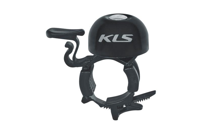 Fahrradglocke KLS BANG 30 black (OEM Verpackung) 001