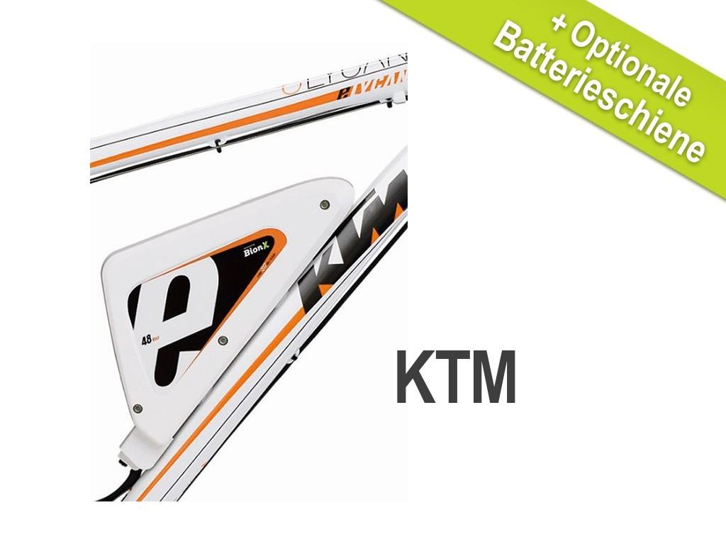 BionX E-BIKE Akku Ersatzakku KTM DL 36V/37V > Umrüstung 48V 6,6 Ah Unterrohr – Bild 1