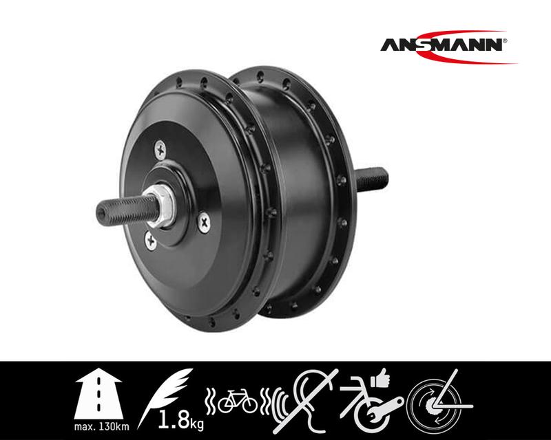 Ansmann FM4.1 E-Bike Frontmotor Umrüstung Set Pedelec Nachrüstsatz Akku mit Display 001