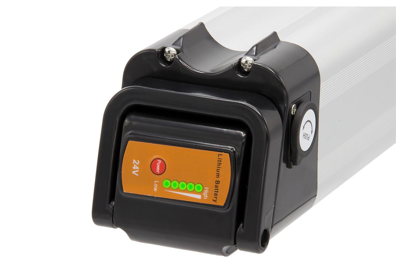 K&J Ersatzakku Batterie 26V 12Ah silber für E-Bike Pedelec Aldi Prophete MiFa Trio Samsung – Bild 3