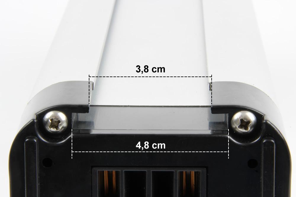 K&J Ersatzakku Batterie 26V 12Ah schwarz für E-Bike Pedelec Aldi Prophete MiFa Trio Samsung Zündapp – Bild 2