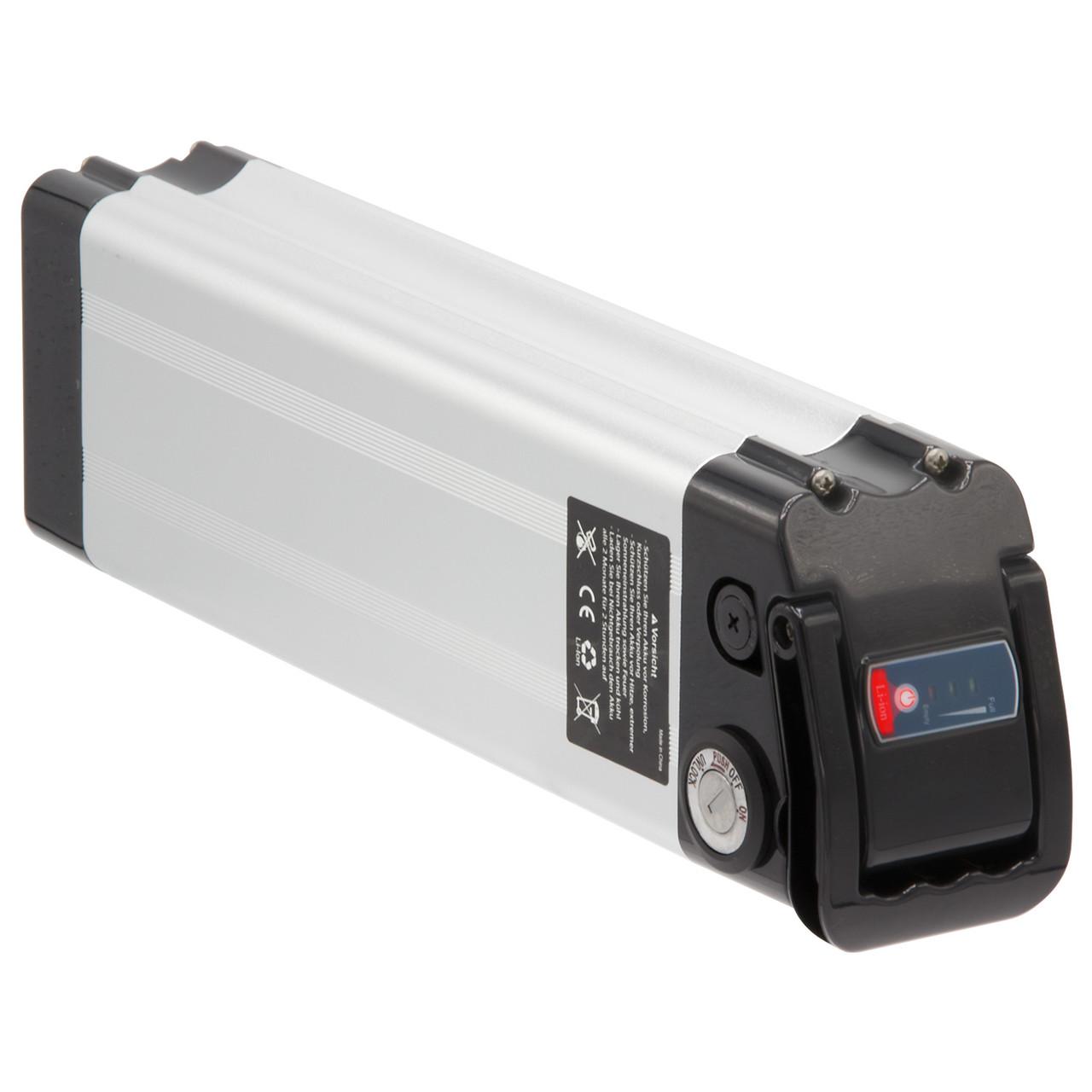 K&J Ersatzakku Batterie 37V 12Ah silber für Aldi Prophete MiFa Trio Samsung Alu-Rex Phylion NCM SWEMO – Bild 1