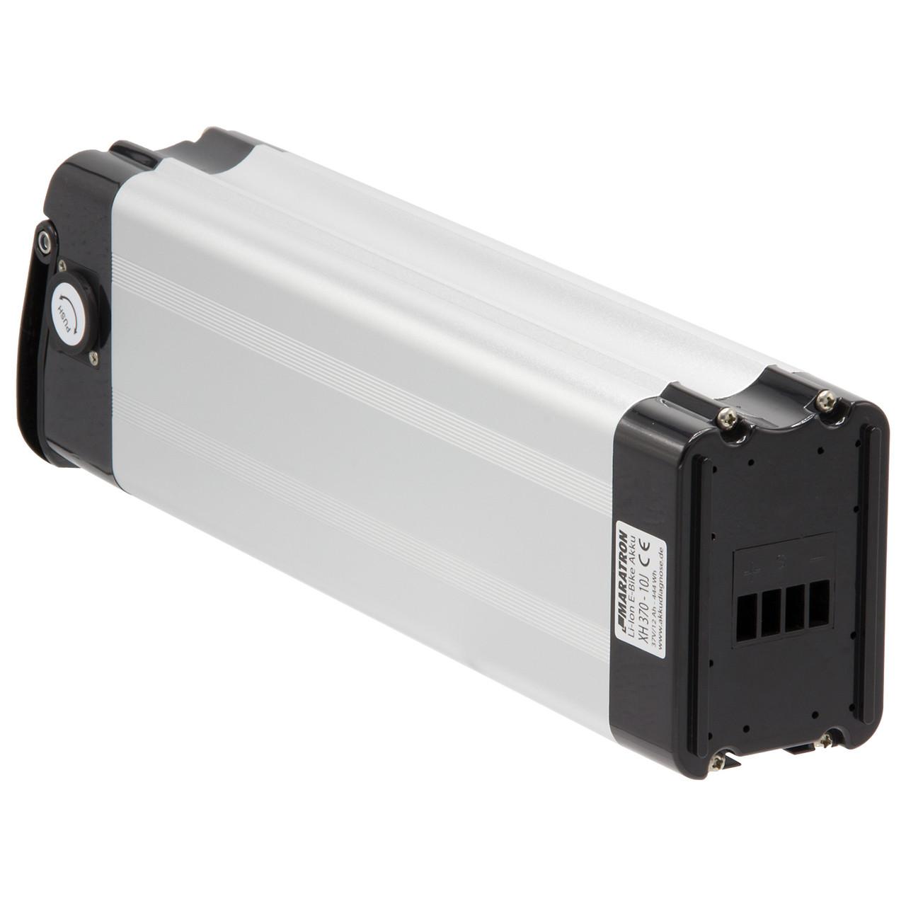 K&J Ersatzakku Batterie 37V 12Ah silber für Aldi Prophete MiFa Trio Samsung Alu-Rex Phylion NCM SWEMO – Bild 2