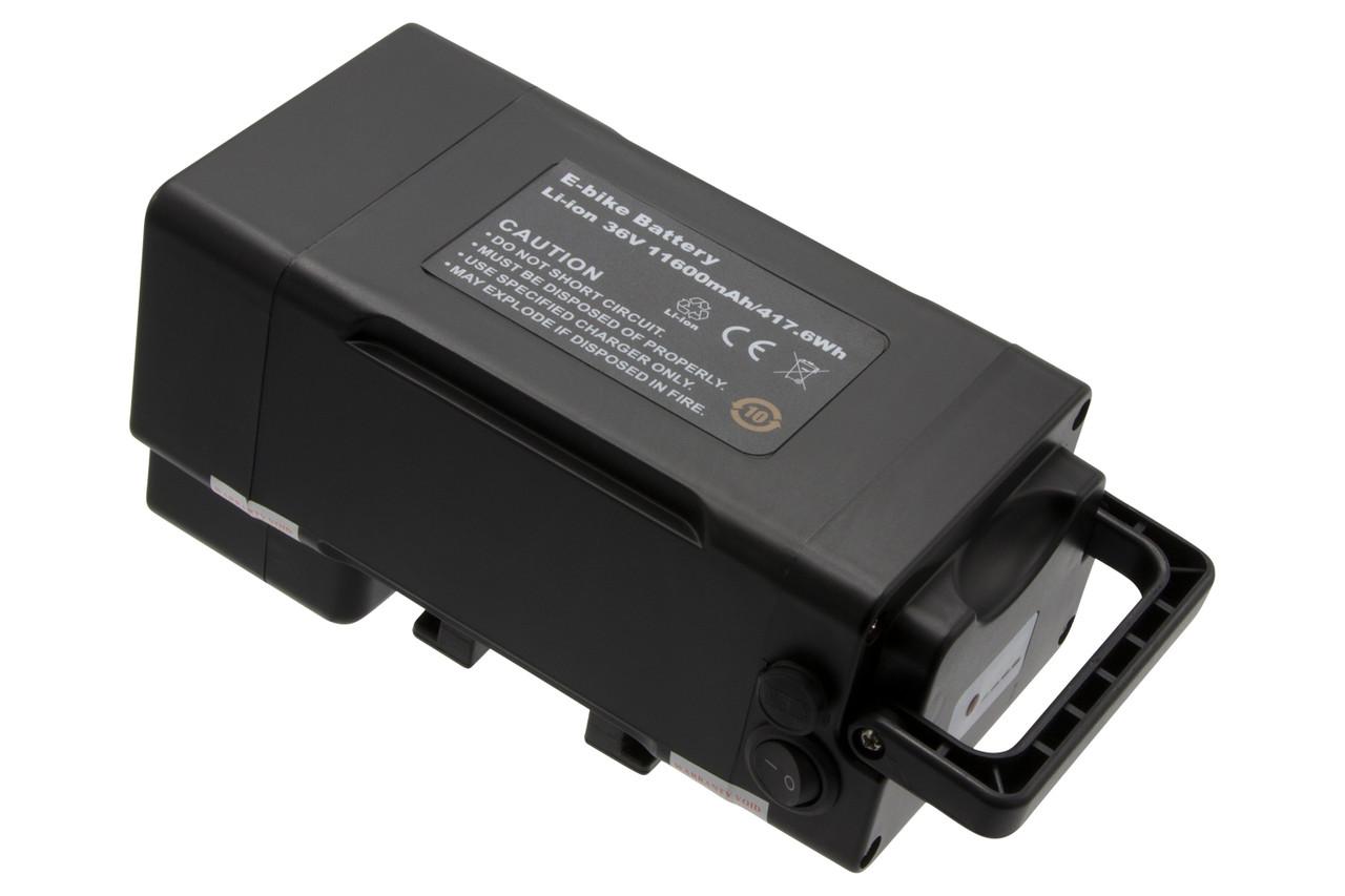 K&J Ersatzakku Batterie 36V 12Ah mit Panasonic Zellen für Ansmann Porta HK – Bild 7