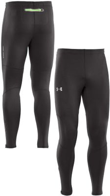 Under Armour HeatGear Herren Compression Thight Laufhose Schwarz Produkt Foto