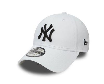 New Era Cap 9FORTY League Basic NY Yankees White/Black Produkt Foto
