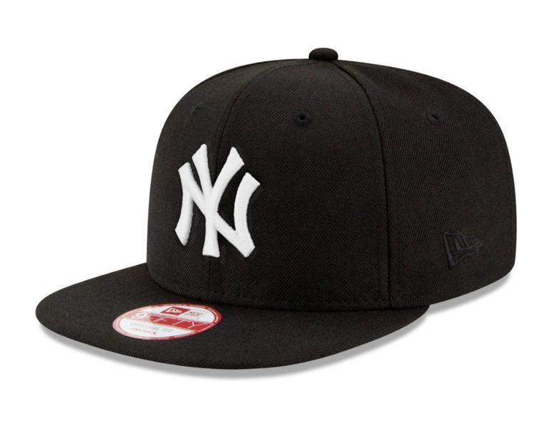 New Era MLB 9Fifty Snapback Cap NY Yankees Schwarz Weiß